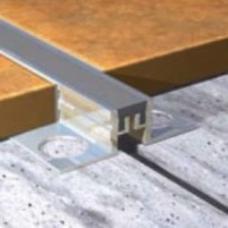 Profil za dilataciju od aluminijuma za pločice debljine 10mm