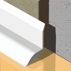 PVC profil za izolaciju od vlage dužine 1,8m