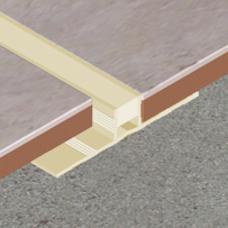 PVC dilatacioni profil od 10mm