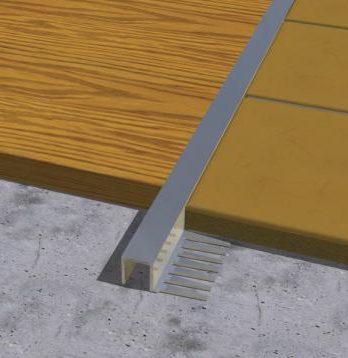 Kvadratna fleksibilna lajsna od aluminijuma