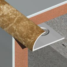 PVC lajsna za spoljne uglove