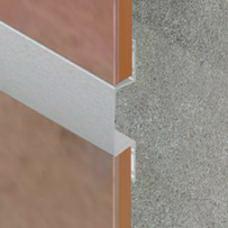 Listela od aluminijuma širine 23mm za pločice debljine 7mm