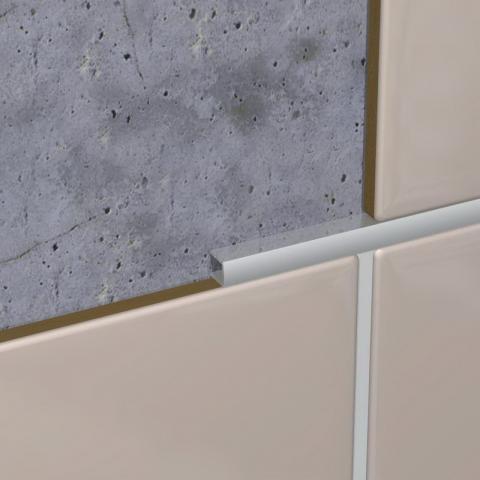 Listela od aluminijuma 10mm