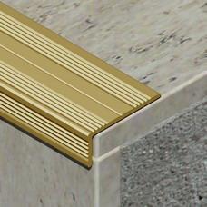 L profil za zaštitu ivice stepeništa od aluminijuma dimenzija 25x10mm