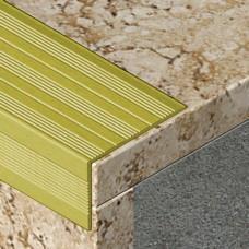 L profil za zaštitu ivice stepništa od aluminijuma dimenzija 41x25mm
