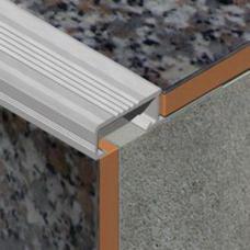 Lajsna za zaštitu ivice stpeništa od aluminijuma za keramičke pločice debljine 10mm
