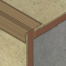 Profil za zaštitu ivica stepeništa od aluminijuma