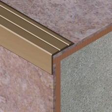 Nadgradni L profil za zaštitu ivice stepeništa od aluminijuma dimenzija 25x20mmKategorije: