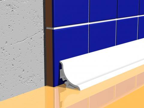 PVC profil za izolaciju od vlage dužine 2,5m