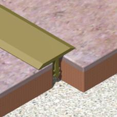 T profil od aluminijuma širine 22mm